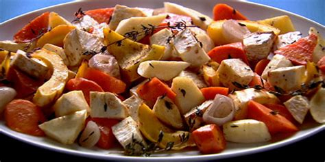 Anna Olson's Roasted Root Vegetables Recipes Food