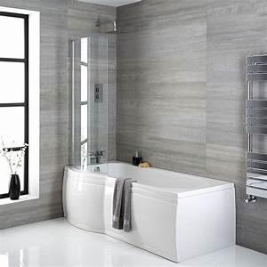 Pare Baignoire D Angle : baignoire d 39 angle asym trique 167 5 x 85cm angle gauche ~ Melissatoandfro.com Idées de Décoration