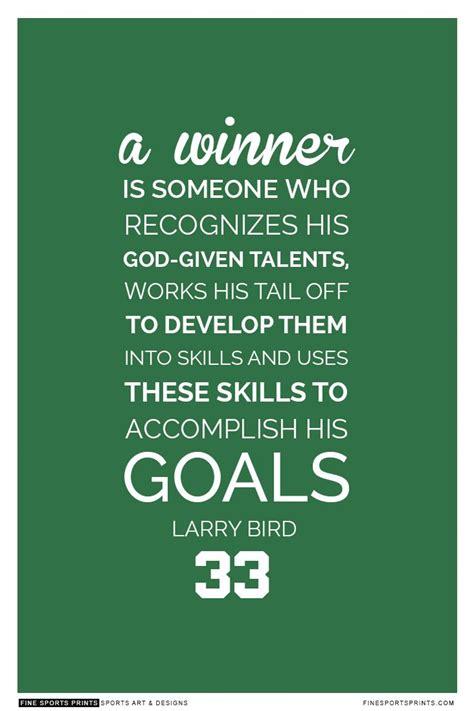 larry bird quote  print    www