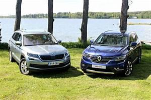 Renault Koleos 2017 Fiche Technique : comparatif vid o renault koleos 2017 vs skoda kodiaq 2017 tude de k ~ Medecine-chirurgie-esthetiques.com Avis de Voitures