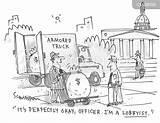 Interest Cartoon Groups Powerful Cartoons Lobbyist Political Comics Template Coloring Special Lobby Cartoonstock Bribe sketch template