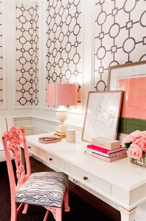 pink  cute office design  girl homemydesign