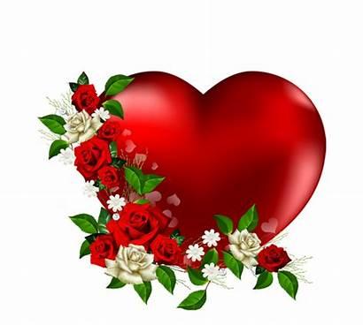 Heart Flowers Clipart Flower Transparent Hearts Clip