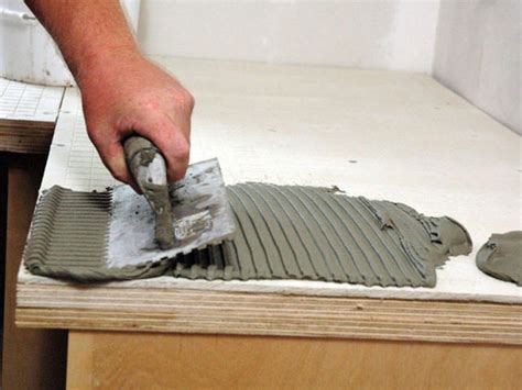 kitchen tile installation how to install a granite tile kitchen countertop how tos 3263