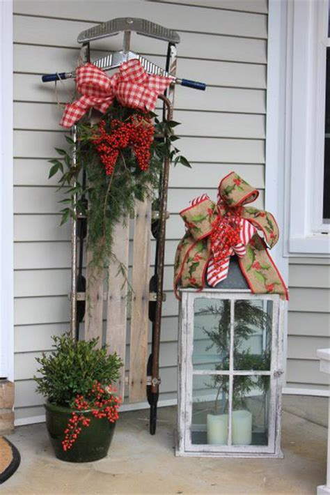 unique outdoor christmas decorations landscape design