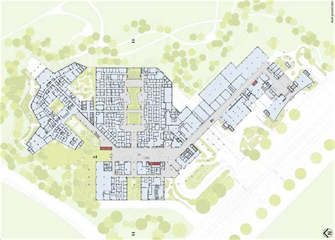 single level floor plans nature inspired design the royal children s hospital in