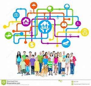 Abc Le Concept Sécurité : groupe de personnes avec le concept de s curit de famille ~ Premium-room.com Idées de Décoration