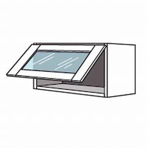 Meuble Haut Cuisine Vitré : meuble de cuisine haut avec abattant vitr origine cuisine ~ Teatrodelosmanantiales.com Idées de Décoration