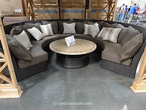Outdoor sectional costco images for Outdoor sectional sofa costco