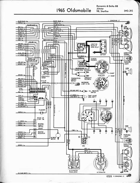1968 Oldsmobile Cutlas Wiring Diagram by Oldsmobile Wiring Diagrams The Car Manual Project