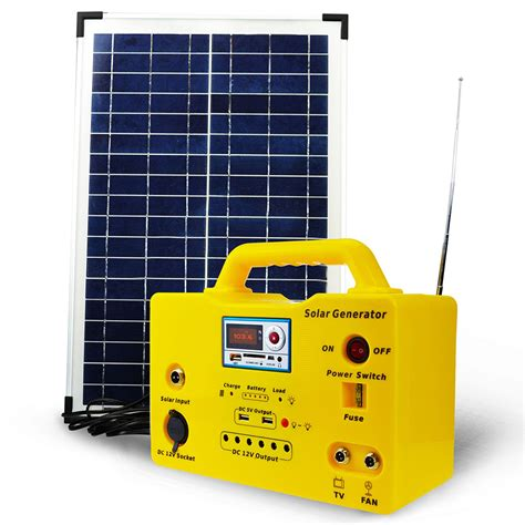 Solar Lighting Systemsg1220w Series Solar Lighting System