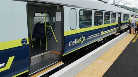 train services resume  wellington  power outage