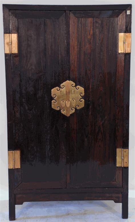 Antique Asian Furniture: Armoire Cabinet from Northern China