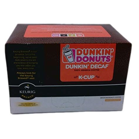 Also there is dunkin donuts box of joe with enough coffee. Dunkin Donuts K-cups Decaf - Box of 12 Kcups for Use in Keurig Coffee Brewers 5.1oz