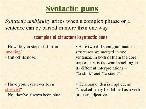 pun   stylistic device