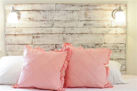 how to make shabby chic distressed headboard for the shabby chic bedroom wonderfuldiy com
