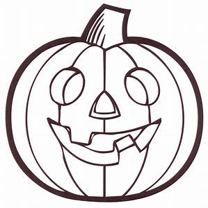 Pumpkin, Outline, Printable