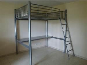 Lit Mezzanine 140x190 : lit mezzanine 140x190 ~ Melissatoandfro.com Idées de Décoration