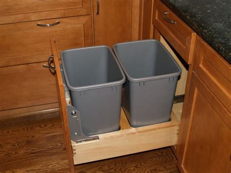 Diy Trash Can Pullout Cabinet Diy Do It Your Self