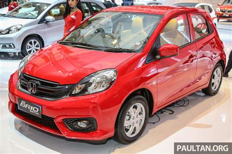 Honda Brio Picture by Honda Brio Facelift Unveiled At 2016 Indonesia