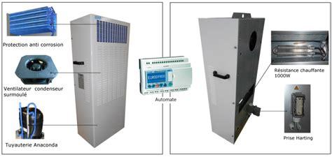 Climatisation Redondante Pour Shelter De Télécommunication