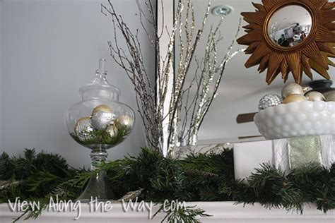 Metallic Star Of Bethlehem Christmas Mantle