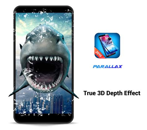 3D Parallax Live Wallpaper HD Animated Background for
