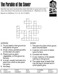 The Parable of Sower Word Search Puzzle