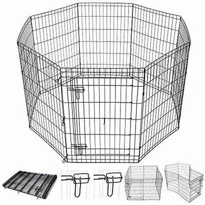 Playpen Indoor Dog Fence Kennel Door Pet