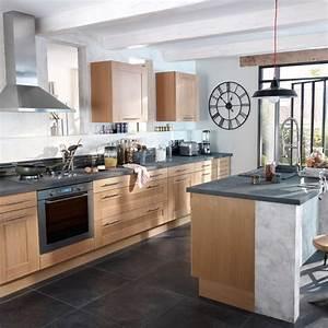 meuble de cuisine haut ikea 12 cuisine gris et bois With meuble deco cuisine