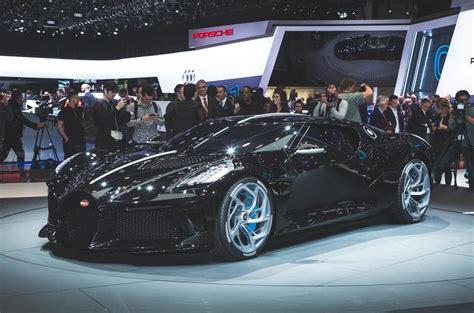 Bugatti La Voiture Noire Revealed As Most Expensive New