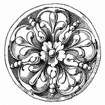 Medallion Clip Medallions Clipart Graphics Fairy Ornament