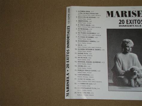 Marisela 20 Exitos Inmortales 1993 Discos Inn Cd $ 80 00