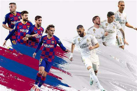 Barcelona vs Real Madrid LIVE in La Liga: el clasico Head ...