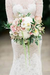 blush and ivory bouquet with eucalyptus