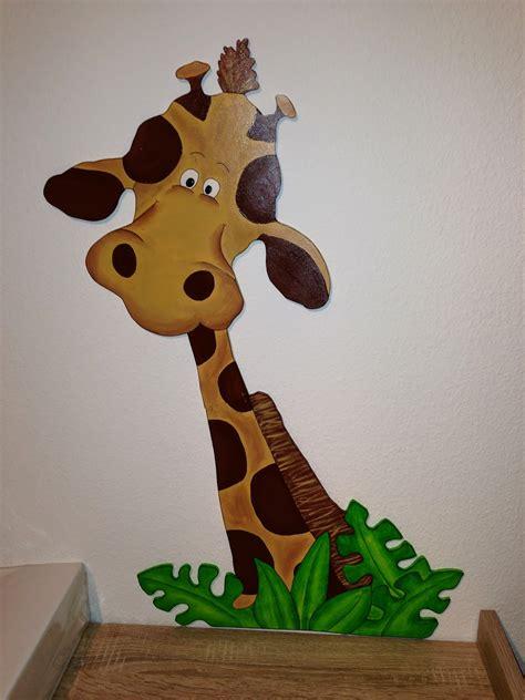 Kinderzimmer Deko Giraffe by Panadesign