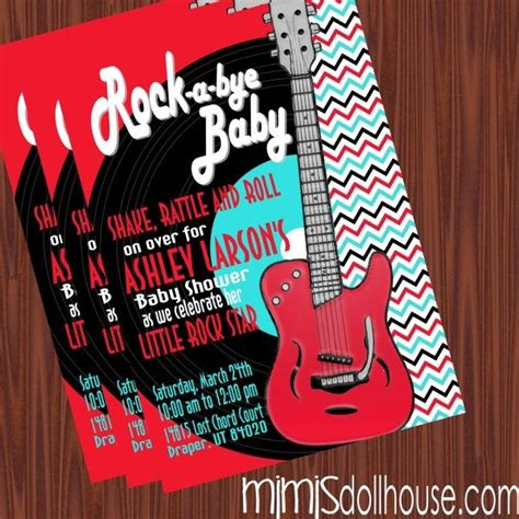 25 best ideas about rock baby showers on baby showers rock theme and