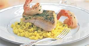 Risotto Mit Fisch : gebratener zander auf safran sekt risotto rezept ~ Lizthompson.info Haus und Dekorationen