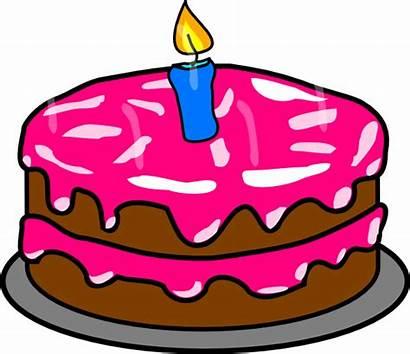 Cake Clip Clipart Birthday Cakes Ulang Tahun