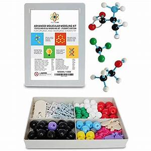 Molecular Model Kit With Molecule Modeling Software And