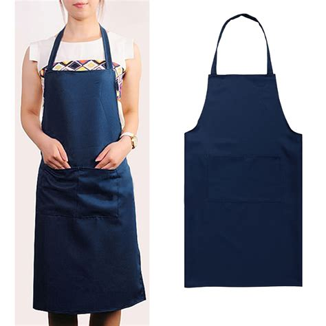 Kitchen Aprons by Solid Color Poly Craft Commercial Restaurant Kitchen Bib