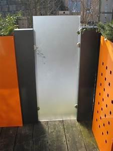Sichtschutz Für Metallzaun : glasscheibe stele modular alles f r haus und garten aus metall ~ Whattoseeinmadrid.com Haus und Dekorationen