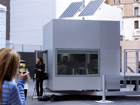 Tiny Cube Häuser by Modern Japanese Inspired Tiny Cube House