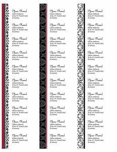23 best address labels free address label templates With design return address labels free