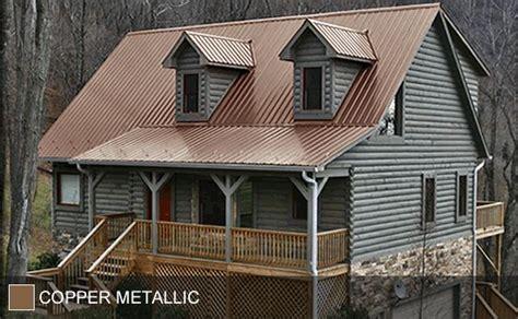 steel roof copper metallic ohmygosh i frickin it