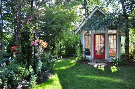 cottage garden up in ribbon s garden cottage