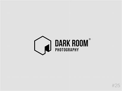 Challenge Dark Daily Photographer Dribbble Brand Icon