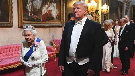 stuff trump donald dinner queen tux state ill fitting mocked related