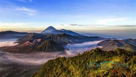 tempat wisata populer  kawasan gunung bromo