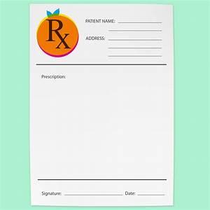 rx pads logo design o redlands print design With doctor prescription pad design